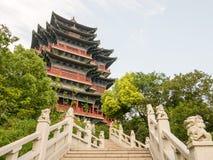 Torres de la visión del río de Nanjing Imagenes de archivo