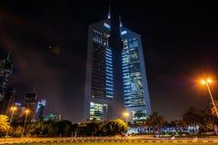 Torres de los emiratos, Dubai, UAE Fotografía de archivo