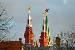 Torres de Moscou Imagens de Stock