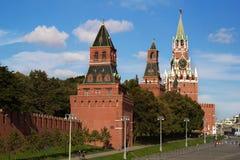Torres de Moscovo Kremlin Fotografia de Stock