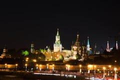 Torres de Moscovo Kremlin Foto de Stock