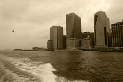 Torres de Nueva York Fotos de archivo libres de regalías