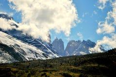 torres de paine de del mountains Image libre de droits