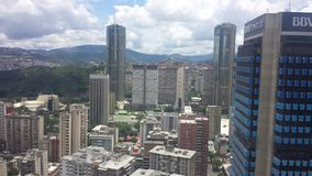 Torres de Parque Central, Caracas images libres de droits