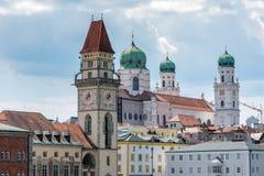 Torres de Passau Fotografia de Stock Royalty Free
