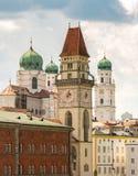 Torres de Passau Fotos de Stock Royalty Free