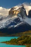 torres de patagonia du Chili del paine photos libres de droits