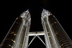 Torres de Petronas Fotos de archivo