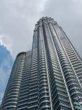 Torres de Petronas Fotografía de archivo libre de regalías