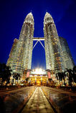 Torres de Petronas Fotografia de Stock Royalty Free