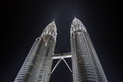 Torres de Petronas Fotos de Stock Royalty Free