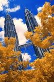 Torres de Petronas imagem de stock