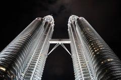 Torres de Petronas Imagens de Stock