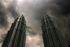 Torres de Petronas Imagem de Stock Royalty Free