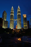 Torres de Petronas Foto de Stock