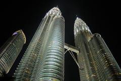 Torres de Petronas, Kuala Lumpur Imagem de Stock