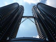 Torres de Petronas, Kuala Lumpur Imagen de archivo libre de regalías