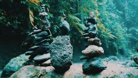 Torres de piedra del zen metrajes