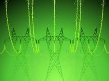 Torres de potência Imagem de Stock