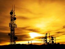 Torres de rádio Imagens de Stock