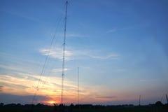 Torres de rádio Fotos de Stock