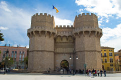 Torres de Serranos Royalty Free Stock Photography