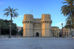 Torres de Serranos Fotografia de Stock Royalty Free