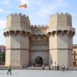 Torres de Serranos Stock Image