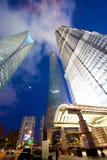 Torres de Shangai Fotos de archivo libres de regalías