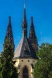 Torres de St Peter e de Paul Cathedral Imagem de Stock