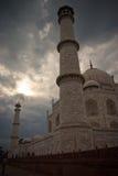 Torres de Taj Mahal Fotografía de archivo libre de regalías