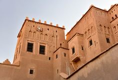 Torres de Taourirt Kasbah Fotografia de Stock