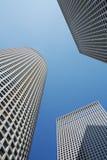 Torres de Tel Aviv Imágenes de archivo libres de regalías