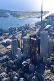 Torres de Toronto Fotos de archivo libres de regalías