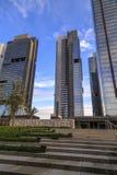 Torres de Torun Center em Mecidiyekoy, Istambul Fotos de Stock