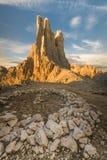 Torres de Vajolet Fotografia de Stock