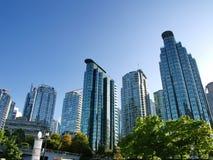 Torres de Vancouver A.C. Fotos de archivo libres de regalías