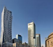 Torres de Varsóvia Fotos de Stock Royalty Free