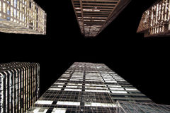 Torres de vidro Foto de Stock