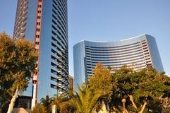Torres de vidro espelhadas Imagens de Stock Royalty Free