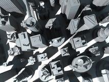 Torres del asunto Fotografía de archivo libre de regalías
