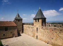 Torres del castillo Foto de archivo libre de regalías