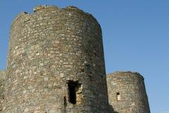 Torres del castillo. Fotografía de archivo libre de regalías