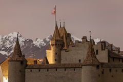Torres del castillo Fotos de archivo