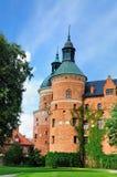 Torres del castillo de Gripsholm, Suecia Imagen de archivo
