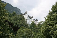 Torres del castillo de Tratzberg, Austria foto de archivo