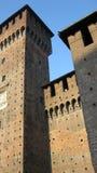 Torres del castillo, Milán imágenes de archivo libres de regalías
