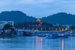 Torres del Cham de po Nagar Palacio famoso en Nhatrang, Vietnam Fotos de archivo libres de regalías