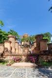 Torres del Cham de po Nagar Palacio famoso en Nhatrang, Vietnam Foto de archivo libre de regalías