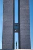 Torres del congreso nacional del Brasil imagen de archivo